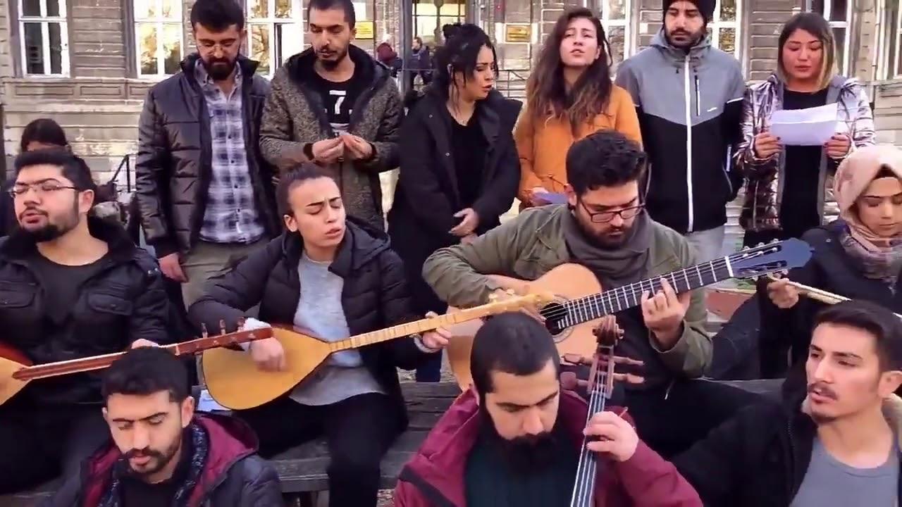 "İTÜ Konservatuvar Öğrencileri: ""İNADINA SANAT İNADINA ÖZGÜRLÜK"""